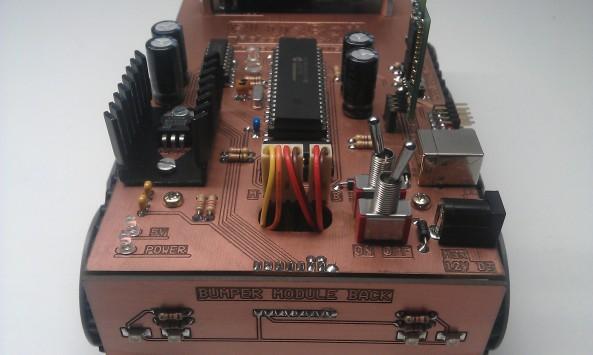 Robot hardware foto 2
