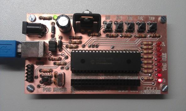 Testmodule PIC18F4550