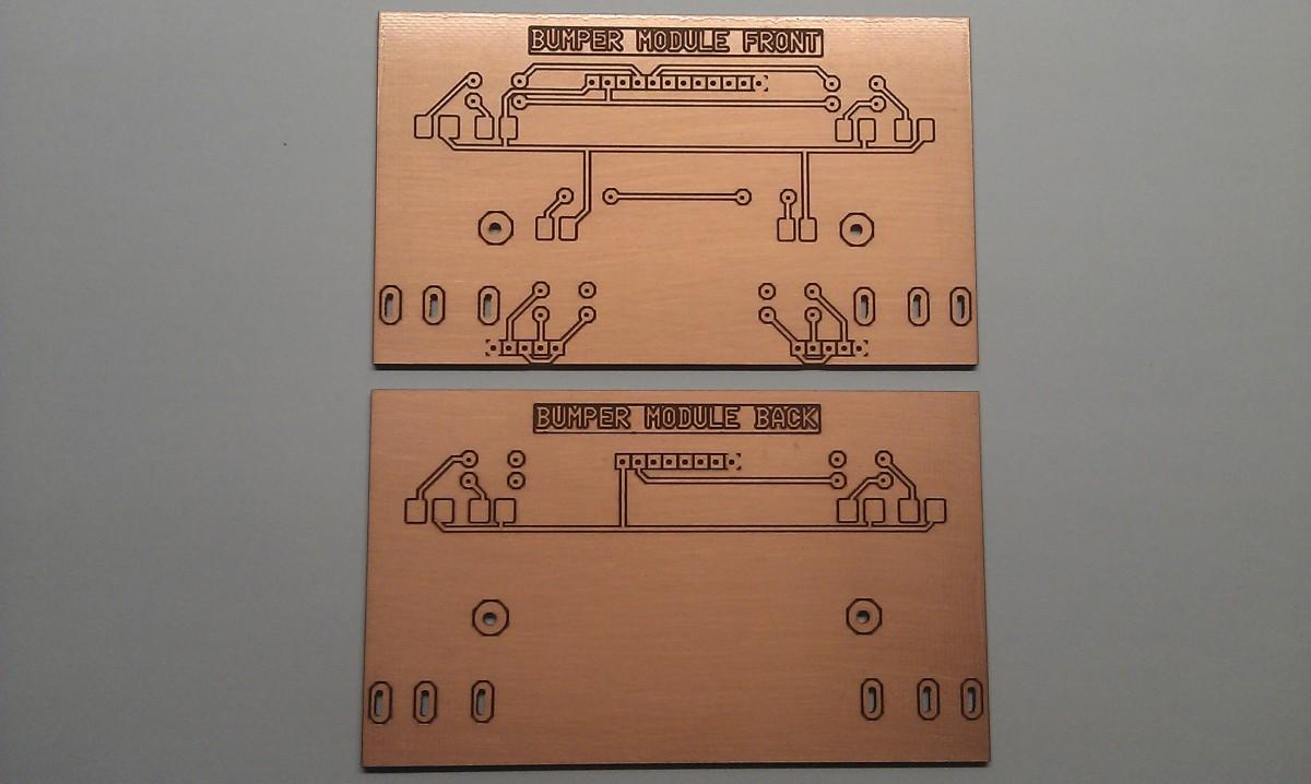 Printplaat Bumper Modules