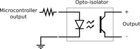 Optocoupler diagram