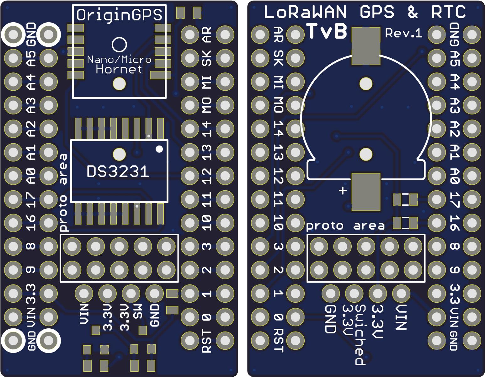 LoRaWAN Node Shields | eTh0maz Electronics